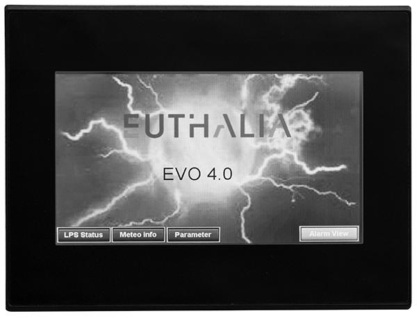 Touchscreen control panel - EVO4.0