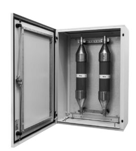 Aerial power box - linghtning protection - Euthalia